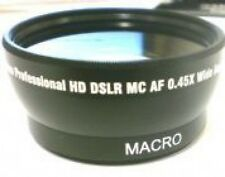 Wide Lens for Canon HFG10 HF S10 G10 S100 HFS10 HFS100