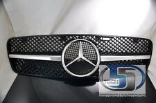 Mercedes Benz W203 C230 C320 C280 C220 C32 Grill Grille 1 Single Fin Style NEW B