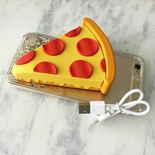 Pizza Power! Portable External Battery Charger Power Bank | USA Ship