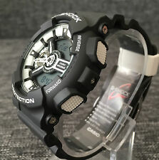 CASIO G SHOCK GA-110BW-1AER BLACK & WHITE XLARGE ANALOG & DIGITAL BRAND NEW