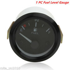 "2""LED Universal Car Fuel Level Gauge Meter With Fuel Sensor E-1/2-F Pointer"