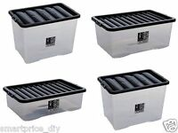 STORAGE BOX PLASTIC 80 LTR 32LTR 45LTR CONTAINERS  STORAGE BOXES LARGE CHEAPEST!