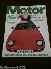 MOTOR MAGAZINE - TALES FROM TOKYO, MOSCOW AND BELGRADE - DEC 26 1981