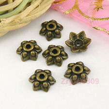 120Pcs Antiqued Bronze  Ornate Bead Caps 8mm A7111