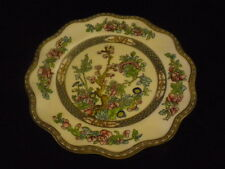 COALPORT INDIAN TREE PLATE AD1750 ENGLAND 8 3/4""