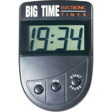BIG DIGIT COUNTDOWN TIMER COOKING TIMING TRUCK DRIVER HOURS LCD CLIP ON MAGNET