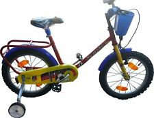 """Bici bicicletta gioco per bambini misura 16"""" con cestello portapacchi"""