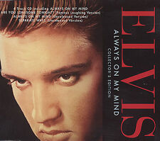 ELVIS PRESLEY -  ALWAYS ON MY MIND CD SINGLE (COLLECTORS EDITION)