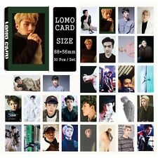 30pcs /set Super cute Kpop EXO SEHUN For Life Photocard Poster Lomo Cards