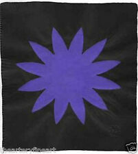 POLLY APFELBAUM 'Power to the Flower (Purple)' SIGNED Unique Paper Pulp Print