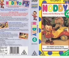 NODDY  AND THE MISSING HATS VHS PAL VIDEO~ A RARE FIND