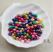 Free shipping 2mm-14mm ABS Pearl Round Beads Spacer Jewelry Making