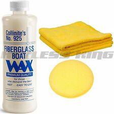 New Collinite # 925 Car Detailing Fiberglass Liquid Boat Wax Polish 16oz