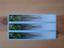 ARROW WRAPS GREEN GRIM REAPER FLAMES DEATH FROM ABOVE 13 PACK SEVEN INCH