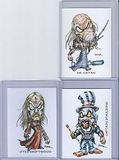 HOUSE OF 1000 CORPSES / DEVILS REJECTS ** TRADING CARD ART by RAK ** HAND SIGNED