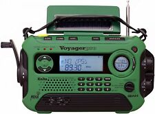 Kaito KA600 Solar Crank NOAA Weather Radio with AM FM Shortwave - Green