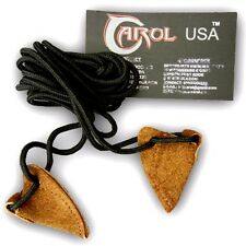 CAROL TRADITIONAL ARCHERY ACCESSORIE UNIVERSAL SUEDE LONGBOW STRINGER AA406.