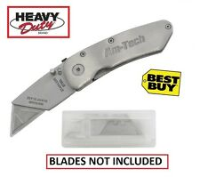 "6"" Folding Knife ""STANLEY"" Type Stainless Steel Knife Trimming Knife NO BLADES"
