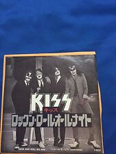 "RARE! Free shipping KISS Rockn' Roll All Nite 7""  Vynil JET-2318"