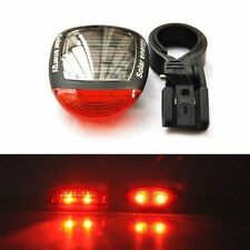 Cool 3Mode  Bicycle Bike Cycling Solar Power  LED Rear Flashing Tail Light Lamp