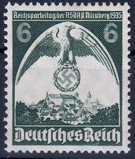 === DR Drittes Reich Mi. 586 PF II **, Kat. 60€ ===
