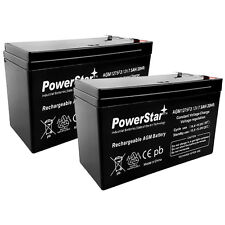 PowerStar 2 x 12V 7.5ah For12V 9AH SLA  Battery for Electric Scooter and Toy Car