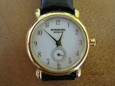 #260 ladys gold plate RAYMOND WEIL watch