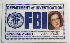 Special Agent Dana Skully / FBI ID Card Novelty / X-Files