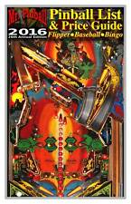 2016 Mr. Pinball Price Guide covers Pinball Machines, Baseball, Bingo, More NEW!