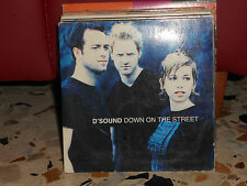 D'SOUND - DOWN ON THE STREET radio version + mix - cd singolo cardsleave - 1998