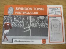 25/03/1969 Swindon Town v Barnsley  .  Thanks for taking the time to view this i
