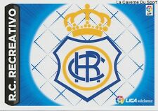 N°17 ESCUDO BADGE SCUDETTO ESPANA RC.RECREATIVO STICKER CROMO PANINI LIGA 2015