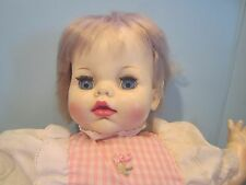 "Ideal Toy CBS Doll 18"" Baby doll FL 20-E-H-354 Blonde Open Close Eyes"