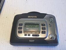 AIWA HS-TX377 Portable Cassette Player AM/FM Stereo Radio