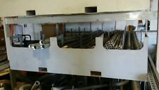 Custom conduit or pipe holder, move pipe easily with a forklift
