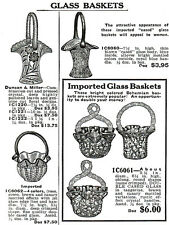Imported Glass in Butler Bros. catalogs 1901-1941 - Bohemian Czech Japanese