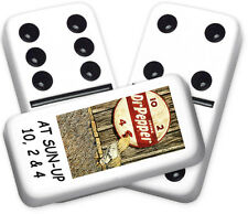 Americana Series Dr.pepper2 Design Double six Professional size Dominoes