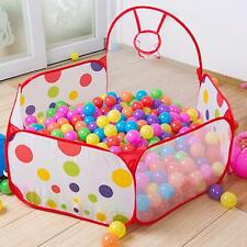 Portable Outdoor / Indoor Kids Game Play Children Toy Tent Ocean Ball Pit Pool