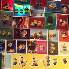 40 different TOPPS Minions stickers-choose from small,large and M poster sticker