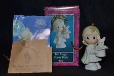 "PRECIOUS MOMENTS  ""THE MAGIC STARTS WITH YOU"" ORNAMENT 529648 ~ 1992  MIB"
