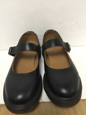 DR MARTENS INDICA BLACK VINTAGE SMOOTH WOMENS 8 SHOES # 16510001