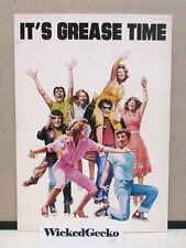 It's Grease Time - Original 1978 Theatrical Grease Movie Brochure - rare HTF