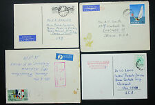Poland Postage Set of 4 Covers Olympic Stamp Polen Luftpost Briefe (H-10550