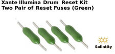 Drum imaging (4) reset chips fuses for  Xante Ilumina Digital Press 407 500 502