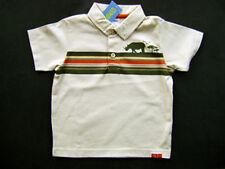 GYMBOREE Safari Trek Beige Polo Stripe Rhino Cotton Tee T-shirt Boys 3 NEW