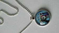 disney frozen glass dome pendant necklace lovely item