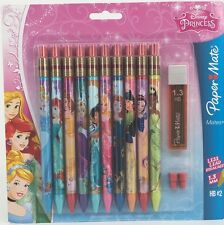 Disney Princess PaperMate Mechanical Pencils 10 Pack HB #2 1.3mm Paper Mate
