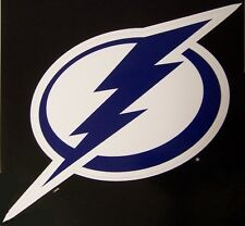 Window Bumper Sticker NHL Hockey Tampa Bay Lightning NEW