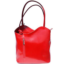 Backpack Purses Bag Italian Genuine Leather Hand made in Italy Florence 207 lr