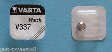 1 x VARTA V337 Armbanduhr 1,55V 8,3mAh SR416SW SR416 SR 416 SW V 337 BATTERIE